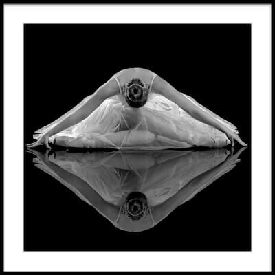 Art print titled Ballerina Reflection by the artist Pauline Pentony MA ARPS DPAGB