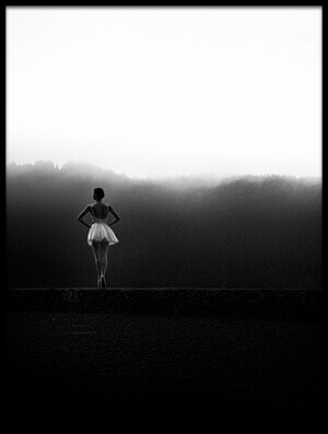 Buy this art print titled Ballerina Standing Tall II by the artist Paulo Medeiros