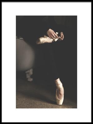 Art print titled Ballet by the artist Bettina Tautzenberger