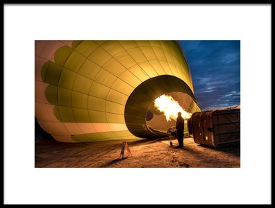 Art print titled Balloon by the artist engin karci