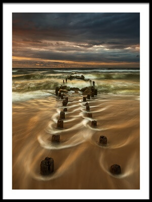Art print titled Baltic by the artist Krzysztof Browko