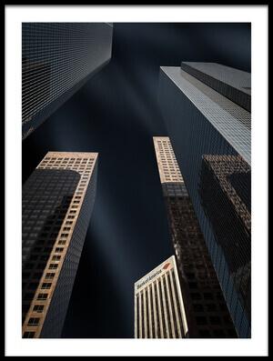 Buy this art print titled Bank of America by the artist Mathilde Guillemot