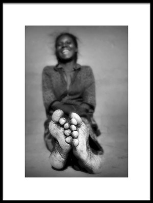 Art print titled Barefoot by the artist Marc Apers