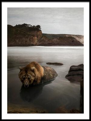 Buy this art print titled B by the artist matthias lenart