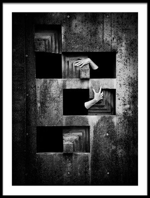 Art print titled Basic Emotions by the artist Andrei Graph