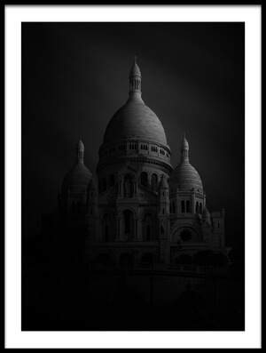Buy this art print titled Basilique Du Sacre Coeur by the artist Sebastien DEL GROSSO