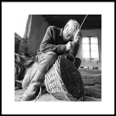 Buy this art print titled Basket Maker by the artist Zoran