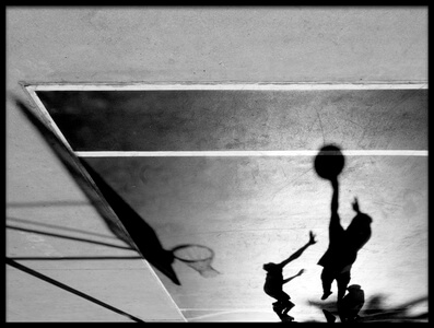 Buy this art print titled Basketball by the artist Martina Dimunová