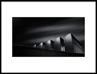 Art print titled Bauhaus Archiv by the artist Matthias Hefner