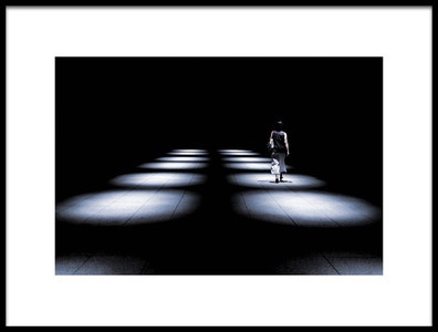 Art print titled Be In the Spot Light by the artist satoshi iwata