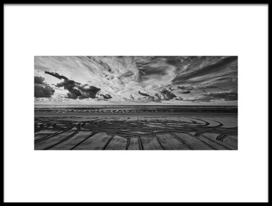Art print titled Beach Art by the artist michael wirth