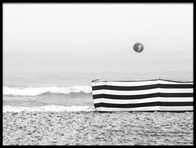 Art print titled Beach Ball by the artist Anna Niemiec