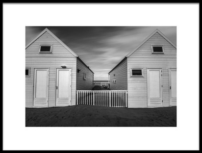 Buy this art print titled Beach Houses by the artist harm poelman
