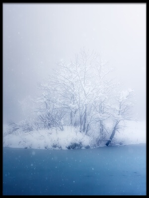 Buy this art print titled Beautiful Winter by the artist Takeru Watanabe