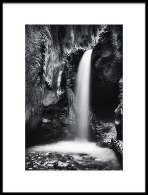 Art print titled BeautifulWaterfall by the artist Leicher Oliver