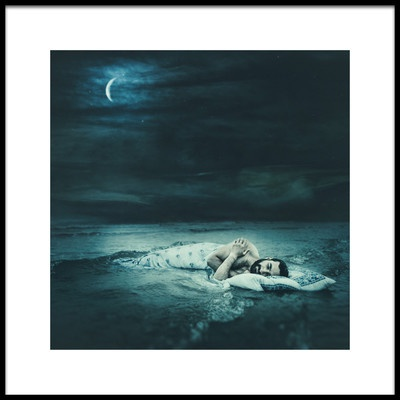 Art print titled Bedtime by the artist Magdalena Russocka