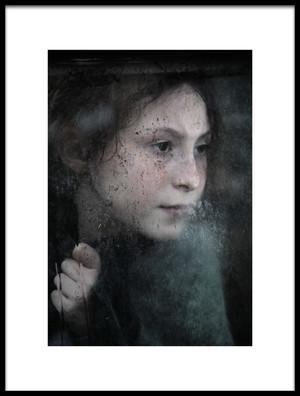 Art print titled Behind by the artist Alicja O'Sullivan