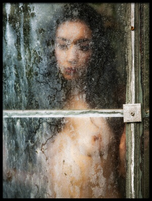 Buy this art print titled Behind Dirty Window Pane by the artist Jan Slotboom