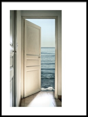 Buy this art print titled Behind the Door by the artist Christian MARCEL