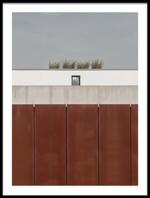 Buy this art print titled Behind the Wall by the artist Klaus Lenzen