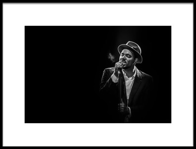 Buy this art print titled Ben LOncle Soul by the artist Christophe