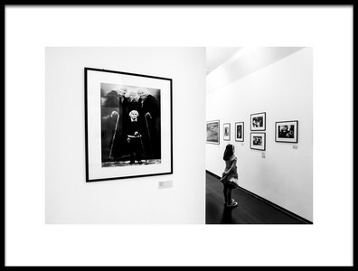 Art print titled Berengo Gardin Exibition by the artist gianluca zaio
