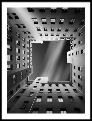 Buy this art print titled Berlin Backyards by the artist carsten Velten