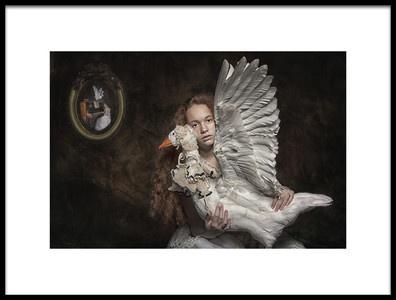 Art print titled Best Friends by the artist Carola Kayen-Mouthaan