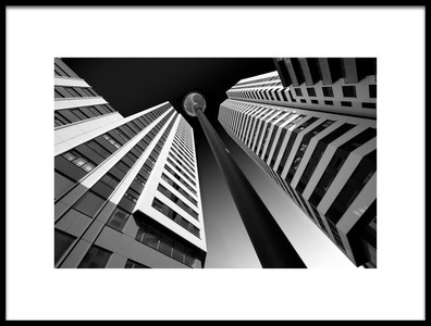 Buy this art print titled Between the White Towers by the artist Peru Serra