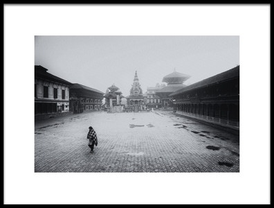 Art print titled Bhaktapur by the artist Thomas Siegel
