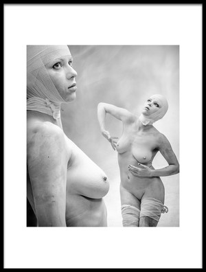 Buy this art print titled Bianconeve by the artist luciano corti