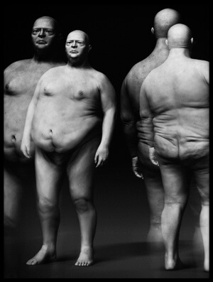Buy this art print titled Big Men by the artist holger droste