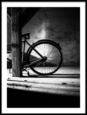 Buy this art print titled Bike by the artist Zsolt Halasi