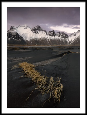 Art print titled Black Sands by the artist fegari