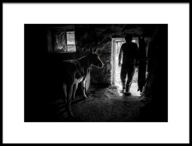 Art print titled BlackampWhite by the artist ELİF TANIR