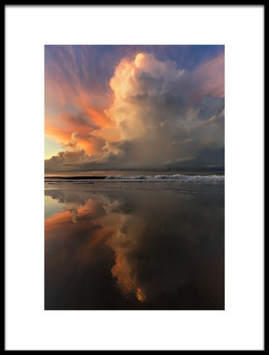 Buy this art print titled Blacksand Mirrors by the artist Phil Green