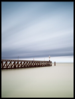 Buy this art print titled Blankenberge Pier by the artist Christophe Staelens