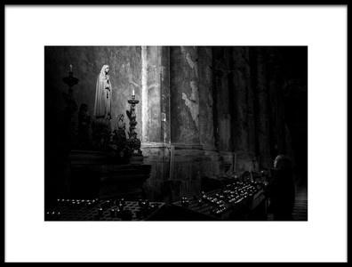 Art print titled Blessed by the artist Fernando Alves