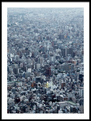 Buy this art print titled Blockscape by the artist Koji Tajima