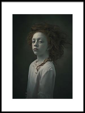 Art print titled Bloem by the artist Ewa Cwikla