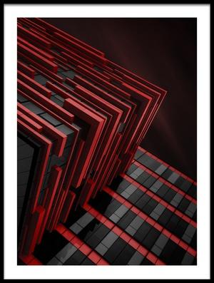 Art print titled Blood Stream by the artist Nadav Jonas