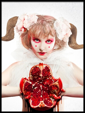 Buy this art print titled Bloody Heart by the artist Angelina Goncharova