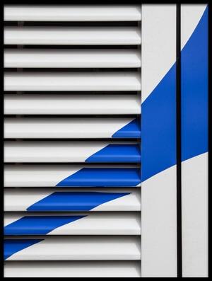 Art print titled Blue by the artist Harry Verschelden