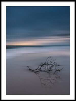 Buy this art print titled Blue Beach II by the artist yisan