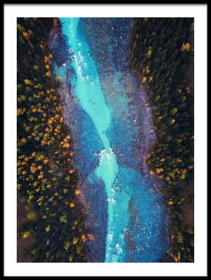 Buy this art print titled Blue Blood by the artist Zhou Chengzhou