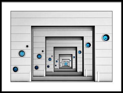 Art print titled Blue Desire by the artist Henk van Maastricht