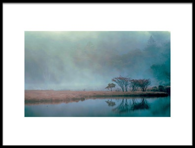 Art print titled Blue Hour by the artist Teruo Araya