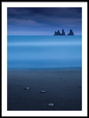 Buy this art print titled Blue Night 3 by the artist Amnon Eichelberg