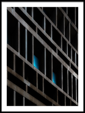 Buy this art print titled Blue Vision by the artist Marc Huybrighs