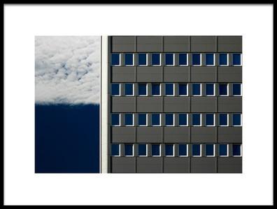 Buy this art print titled Blue Windows by the artist Karol Važan